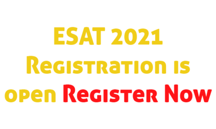 ESAT 2021 Registration